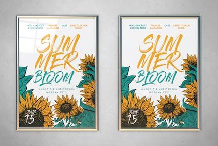 Summer Bloom Flyer