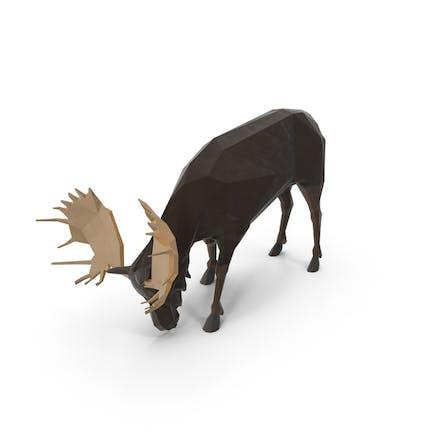 Low Poly Moose