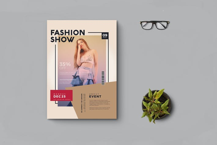 Cover Image For Fashion Flyer