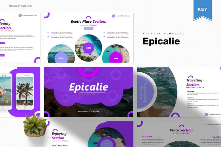 Thumbnail for Epicalie | Keynote Template