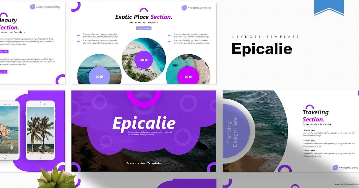 Download Epicalie | Keynote Template by Vunira