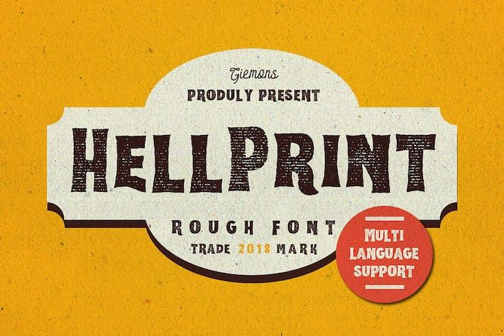 Thumbnail for Helprint Typeface