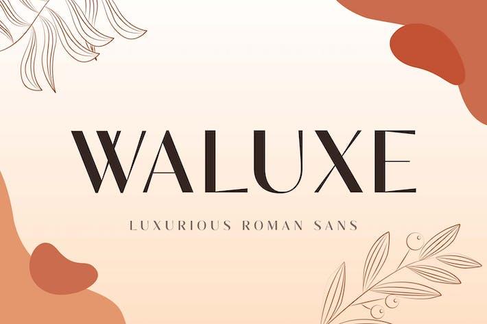Thumbnail for Waluxe - Luxurious Roman Sans