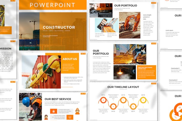 Constructor - Constructor Powerpoint Template