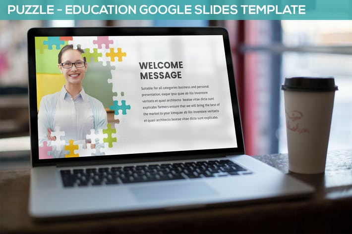 Thumbnail for Puzzle - Education Google Slides Template