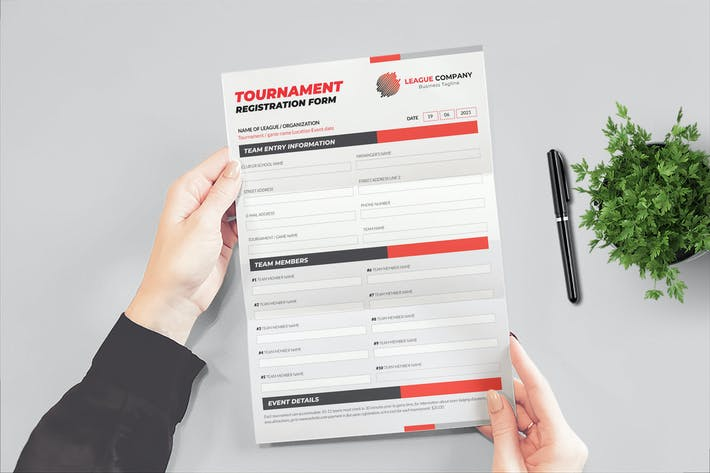 Thumbnail for Tournament Form
