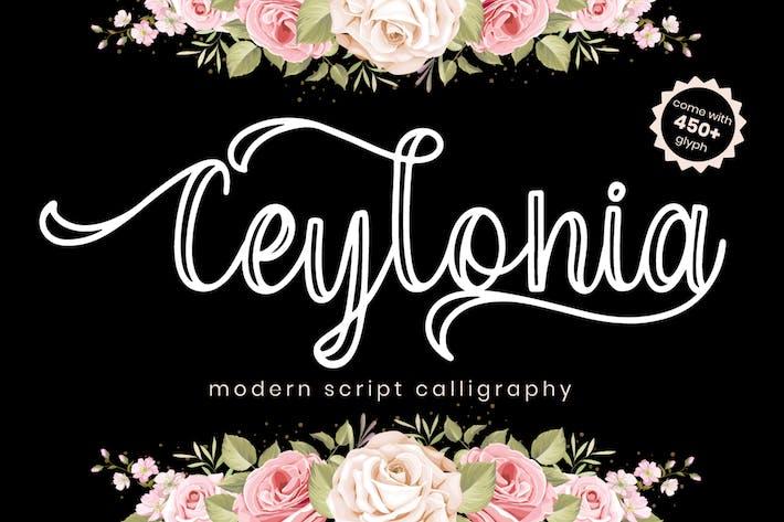 Thumbnail for Ceylonia - Script Font