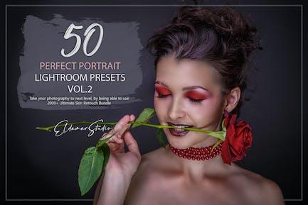 50 Perfect Portrait Lightroom Presets - Vol. 2