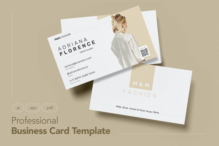 Thumbnail for Professional and Beauty Business Card V.10