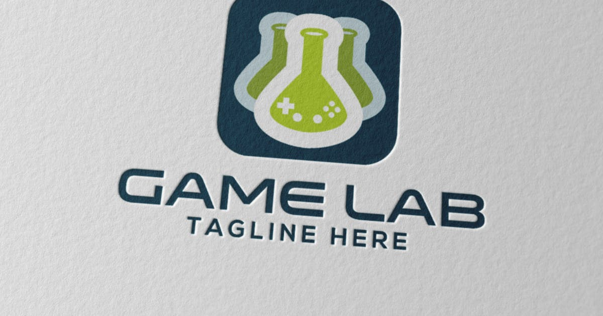 Download Game Lab Logo by Scredeck