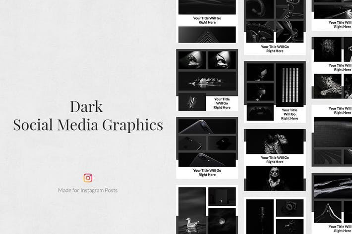 Thumbnail for Dark Instagram Posts