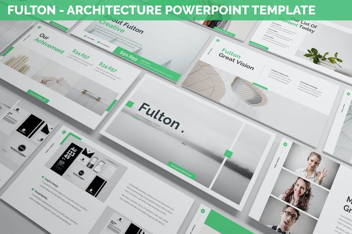 Fulton - Architecture Powerpoint Template