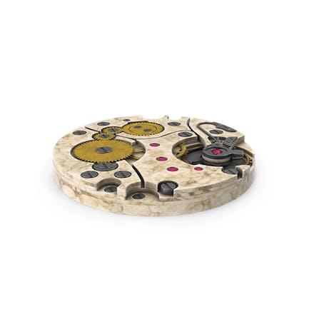 Reloj Mecanismo Old Marble