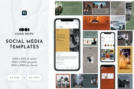 Cood News — Social Media Pack