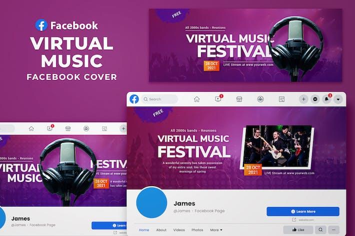 Facebook Cover - Virtual Music
