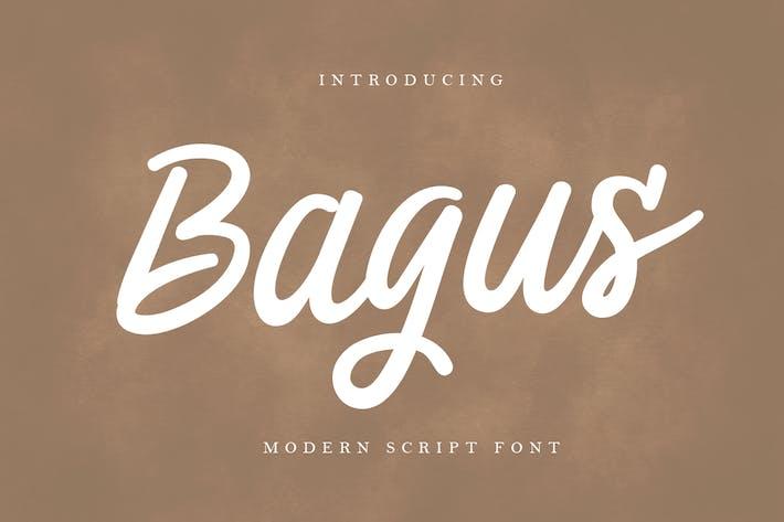 Bagus - Современный шрифт
