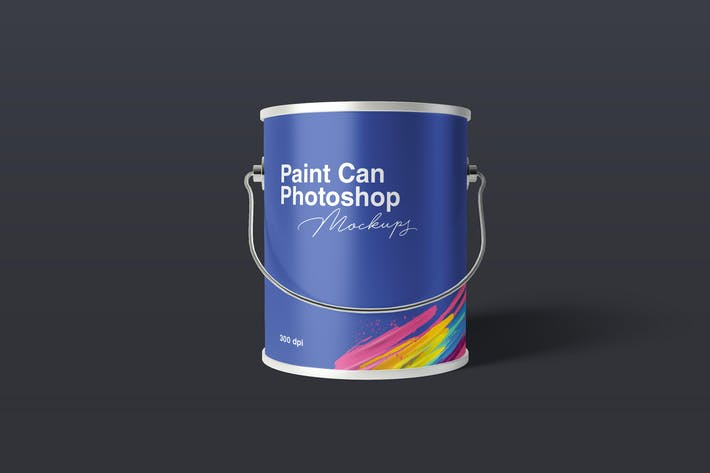 Thumbnail for Paint Can Mockups