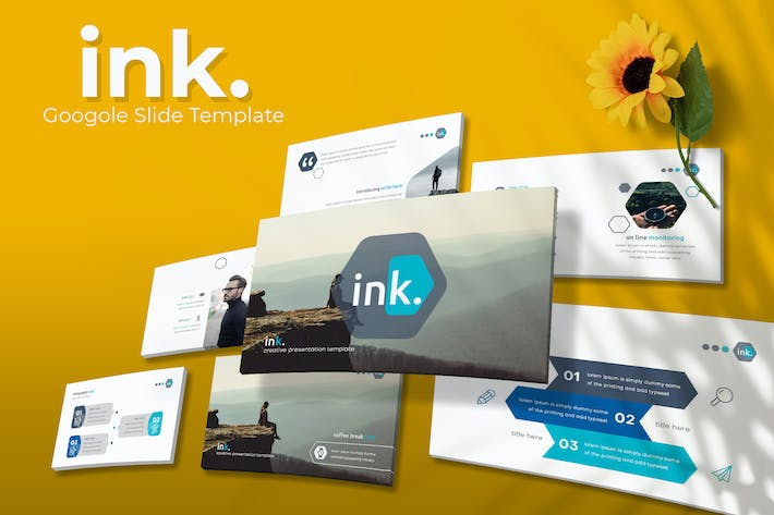 Thumbnail for ink. - Google Slides Template