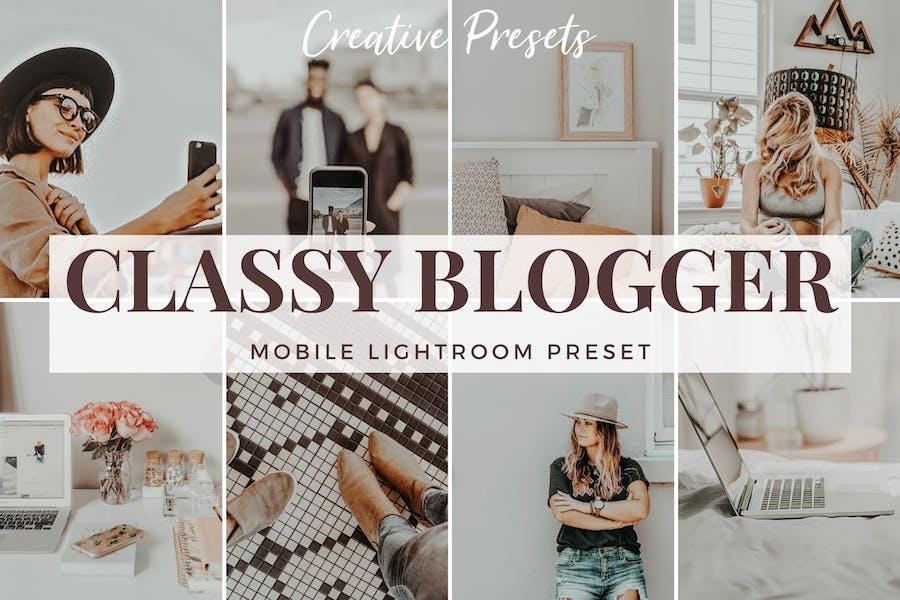 Classy Blogger - Mobile Lightroom Preset