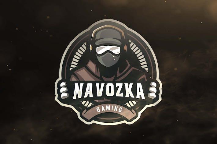Thumbnail for Human Gaming Sport and Esports Logo