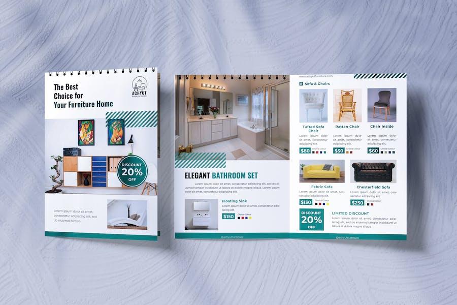 Furniture Interior Design Bifold Brochure