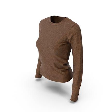 Women's Pullover Brown