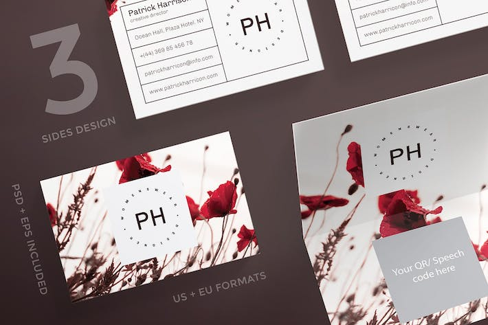 Thumbnail for Fashion Style Business Card Template