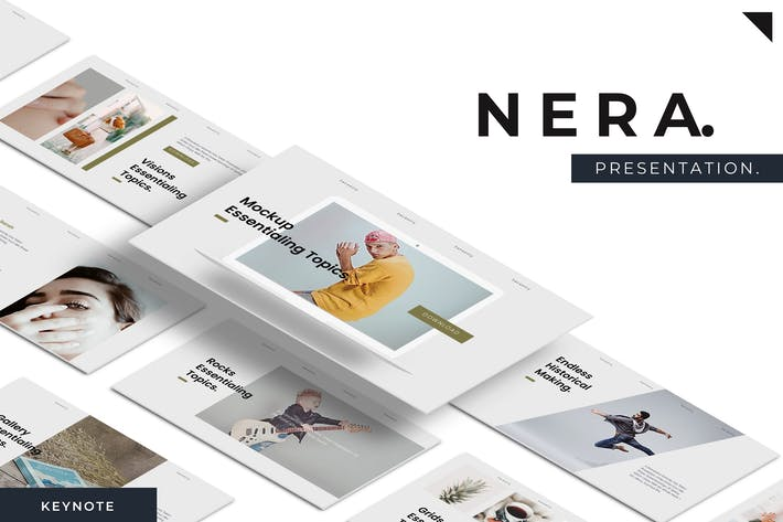 Thumbnail for Nera - Keynote Template