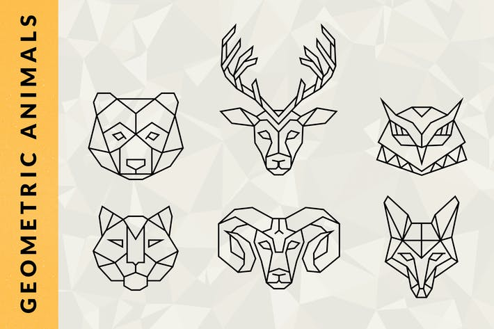 Thumbnail for Geometric Animal Logos