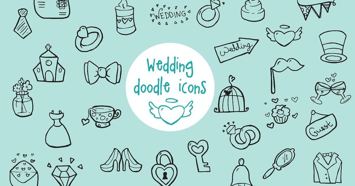Download Wedding - Doodle Icons by ZelenskyRuslan