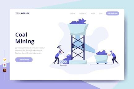 Coal Mining - Landing Page