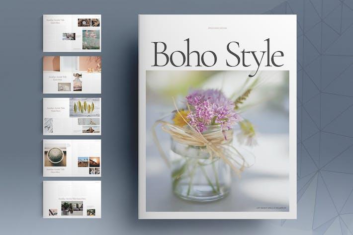 Thumbnail for Boho Style Brochure