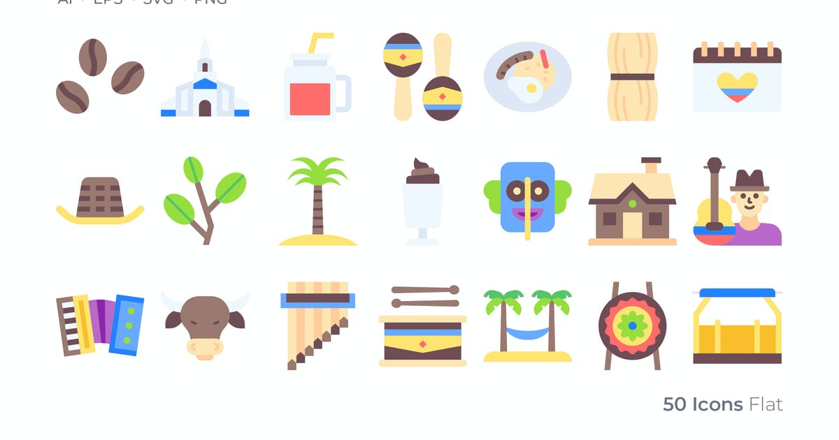 Download Colombia Color Icon by GoodWare_Std