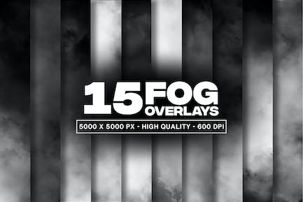 15 Fog Overlays and Textures