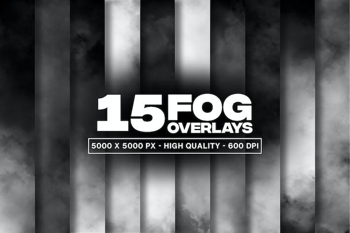 15 Nebel-Overlays und Texturen