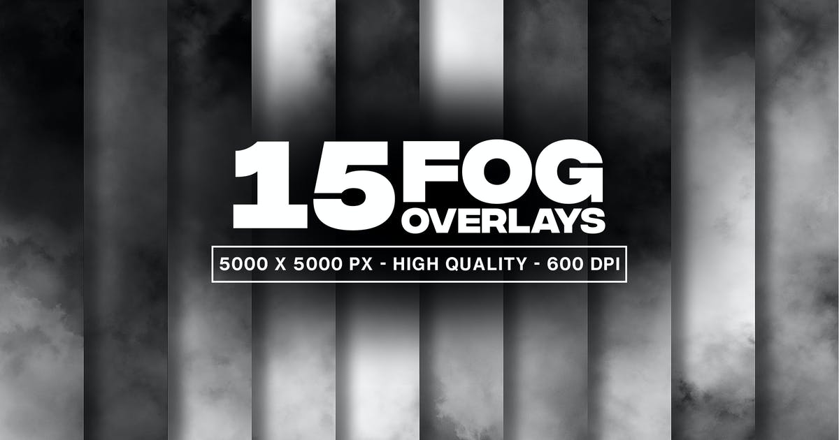 Download 15 Fog Overlays and Textures by MographMotions