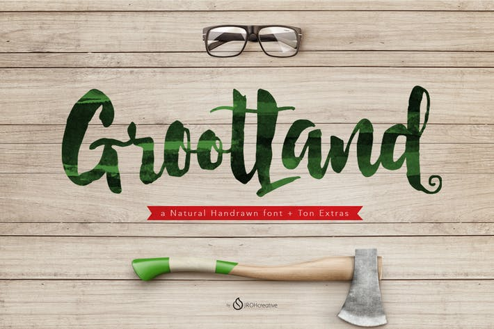 Thumbnail for Grootland Font