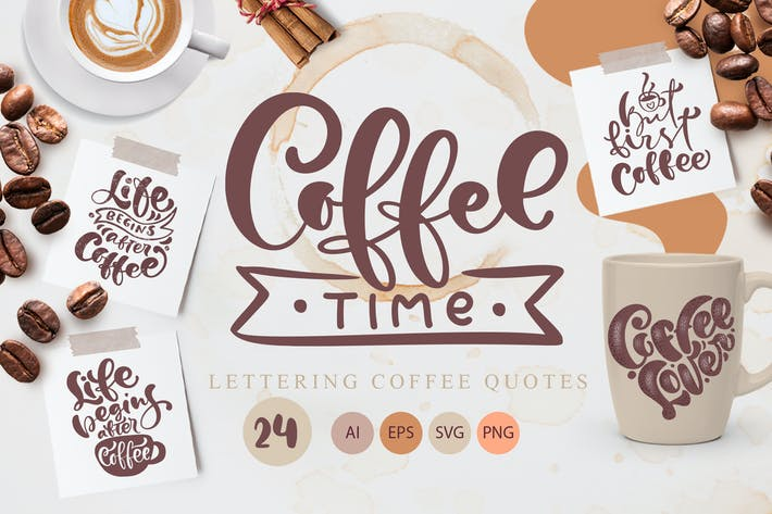 Cover Image For Coffee time SVG