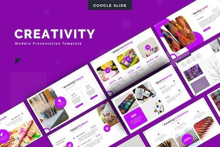 Creativity - Google Slide Template