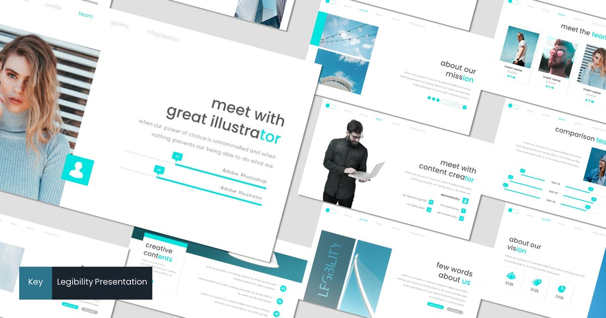 Download Legibility - Keynote Template by inspirasign