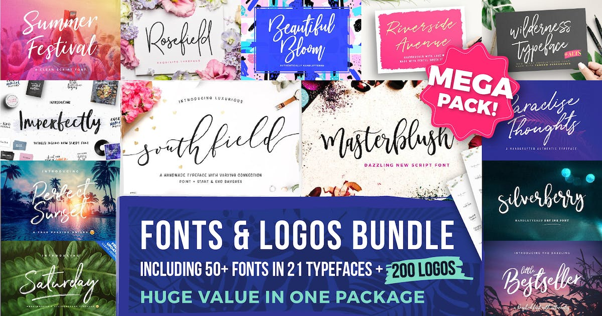 Download Typographer's Dream Box + 200 Logos by MPFphotography