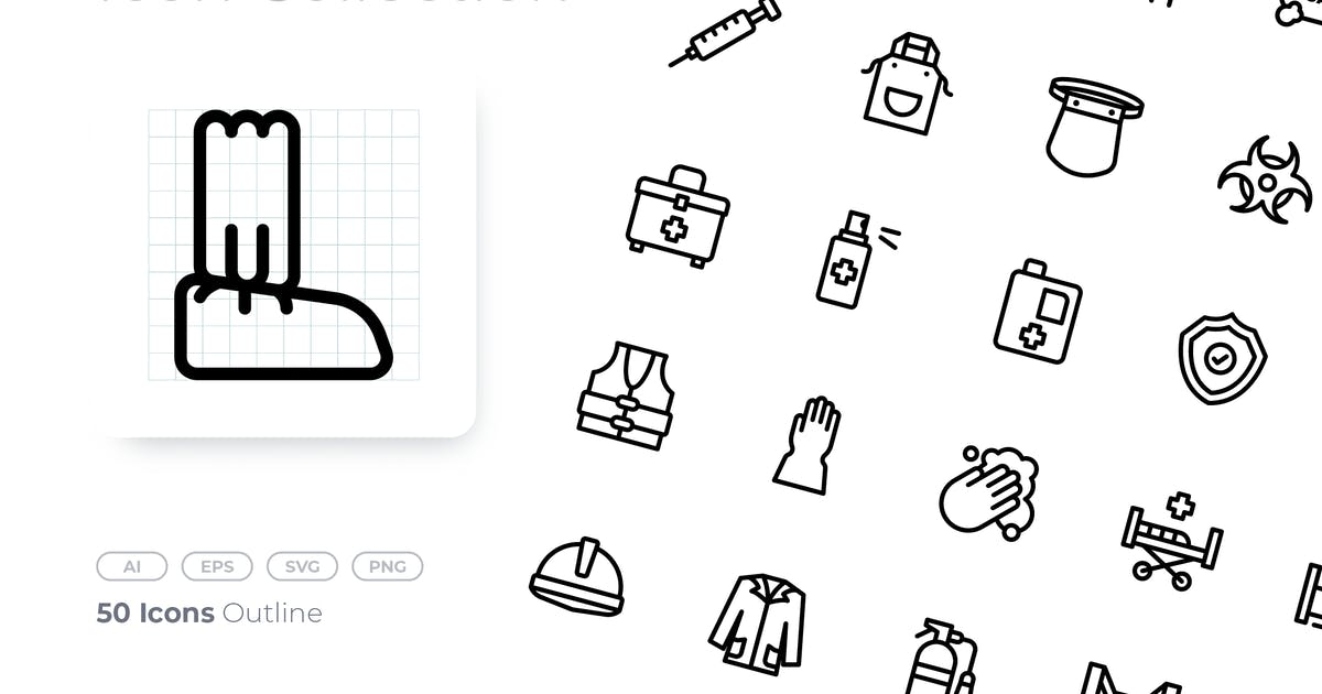 Download Protective Equipment Outline Icon by GoodWare_Std