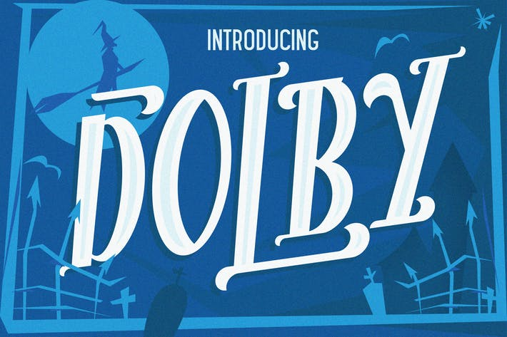Thumbnail for The Dolby Font