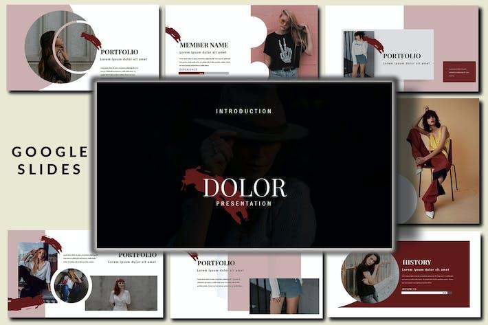 Thumbnail for Dolor Stylish Google Slides Presentation