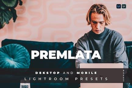 Premlata Desktop and Mobile Lightroom Preset