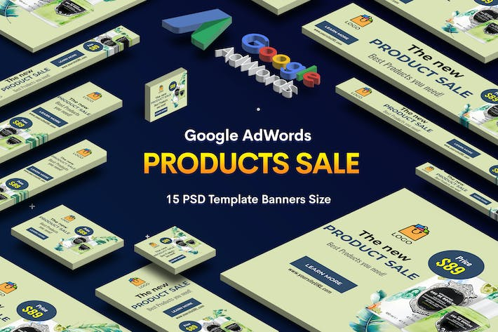 Thumbnail for Products Sale Banners Ad