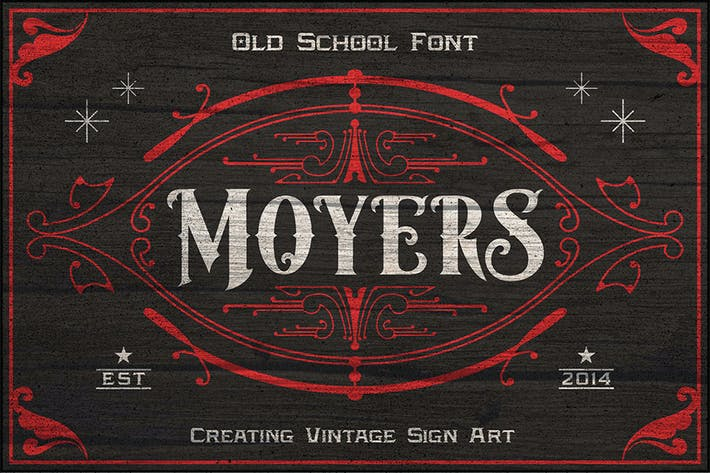 Thumbnail for Moyers Typeface