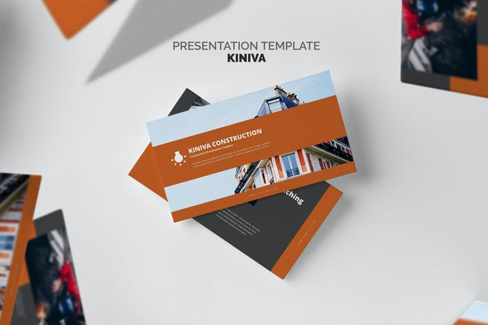 Thumbnail for Kiniva : Construction & Engineering Powerpoint