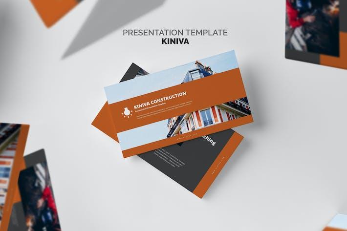 Thumbnail for Kiniva: Строительство и инжиниринг Powerpoint