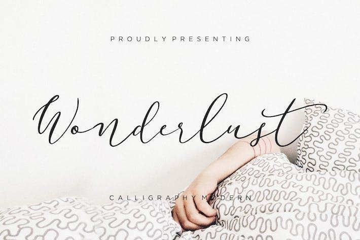 Thumbnail for Wonderlust Kalligraphie Modern